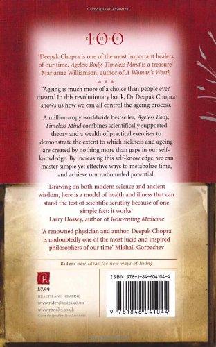 Ageless Body Timeless Mind - Deepak Chopra