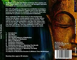 learn to meditate by aron gadd back cover