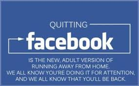 quitting fb meme